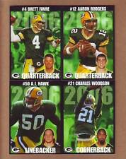COMPLETE 2006 Green Bay Packers Police TEAM SET - Aaron Rodgers first card Favre