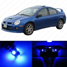 6 x Ultra Blue LED Interior Light Package For 2000 - 2005 Dodge Neon