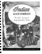 Indian Motorcycle Accessories Catalog ~ 1948 ~ Reprnt