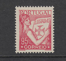 Portugal Sc 511 MNH. 1933 95c carmine rose Lusiadas single