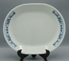 """Corning Corelle Old Town Blue 12 1/4"""" Oval Serving Platter"""