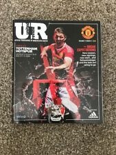 Manchester United v Tottenham Hotspur United Review Programme August 8th 2015