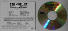 Ben Kweller - Changing Horses - Promo CD