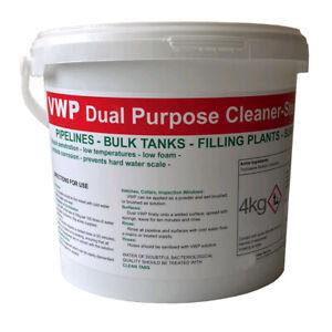 VWP Cleaner Steriliser home brew beer wine cider. Large 4kg bulk resealable tub