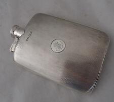 Antique Silver Hip Flask James Dixon Sheffield 1923 216g