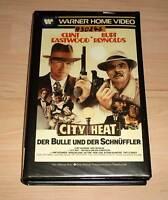VHS - City Heat - Der Bulle und der Schnüffler - Clint Eastwood - Videokassette