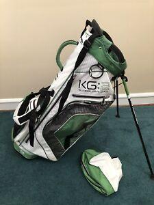 Sun Mountain KG2 White / Green SUPER Light Golf Stand Bag  Carry Bag Cart KG:2