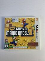 New Super Mario Bros. 2 (3DS, 2012) case manual and inserts only NO GAME