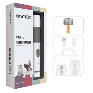 Pet Nail Grinder | Dogs & Cats Nails Grooming Electric Claw Clipper Rechargeable