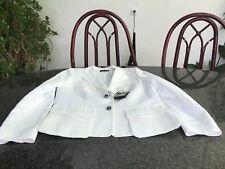 Schöner weißer Blazer von Escada Gr. 44 NEU