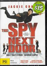 THE SPY NEXT DOOR - JACKIE CHAN - NEW & SEALED REGION 4 DVD - FREE LOCAL POST
