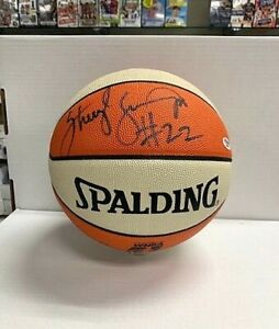 Sheryl Swoopes Signed Official WNBA Basketball PSA/DNA Comets D03363