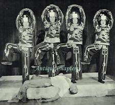 Berlin State Opera Six Dancers Robots Men & Machinery Ballet 1931 Photo Article
