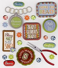 JEWELLERY BEADING* K & Company Life's Little Occasions Stickers- HOBBIES - CRAFT