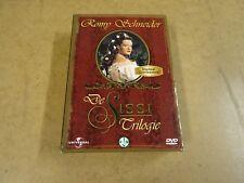 3-DVD BOX / DE SISSI TRILOGIE ( ROMY SCHNEIDER )