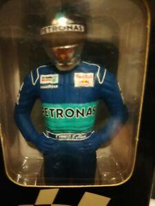 Minichamps 1/ 18 Jean Alesi driver figure Petronas 1998