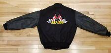 Vintage Ski Doo MV SPORT Leather Wool Bomber Varsity Jacket Mens Sz M -USA