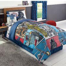 Disney's Star Wars Darth Vader Twin Reversible Comforter Plus Twin Sheets Set