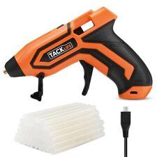 Tacklife Battery Cordless Hot Melt Glue Gun 3.6V Mini w/ 45 Pcs EVA Glue Sticks