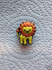 LION JIBBITZ LION SHOE CHARM FITS CROCS CUTE LION CLOG CHARMS ZOO ANIMAL CHARM