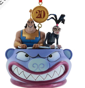 BNWT Disney Store 2020 Legacy EMPERORS NEW GROOVE Christmas Decoration Ornament