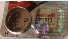 2 PCS Maxell CR2032 3V = DL 2032  / ECR2032 / BR2032 BATTERY ! EXPIRY 2023 !