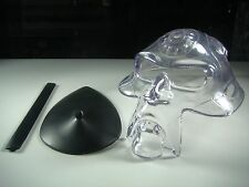 Oakley Acrylic Bob Head with Stand + a custom metal pole display limited RARE