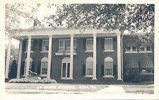 RPPC J.K. Hughes residence Mexia Texas TX unmailed real photo postcard