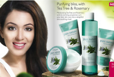 lot In Oriflame Pure Nature Tea Tree & Rosemary Facial Kit For Oily Skin