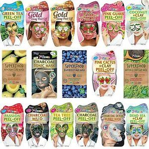 7th Heaven Peel Off Face Masks For Moisturising Detox Cleansing & Exfoliating