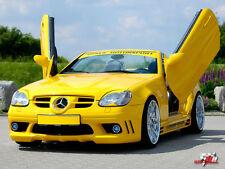 SLK R170 Scheinwerferblenden Böser Blick SL Augen Mercedes SLK