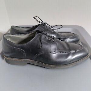 Footjoy Classics Men's Size 12D Dress Shoes Black Leather Lace Up Vibram Oxford