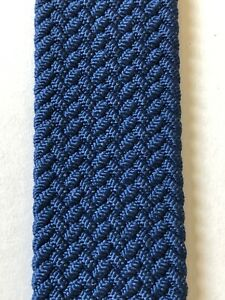 Apple Braided Solo Loop Atlantic Blue  Authentic Apple Watch Band sz 8, 42/44mm