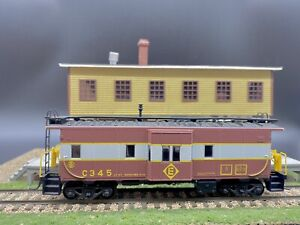 ATHEARN HO BAY WINDOW CABOOSE (ERIE LACKAWANNA) # C345,RARE