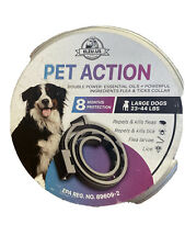 8 Month Supply Pet Action PetAction Plus Flea Tick Collar Large Dogs 23-44 Lbs