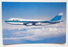 EL AL Boeing 747 Postcard (Airline Issue)