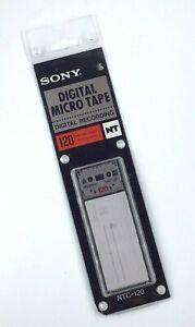 SONY Digital Micro Tape / Digital Recording / NTC-120 / 120 Minute / 2 x 60 Min
