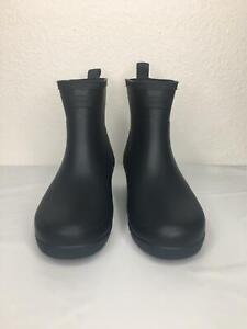 2*66 NEW Hunter Women's Original Refined Low Heel Ankle Rain Boots Women Size 6