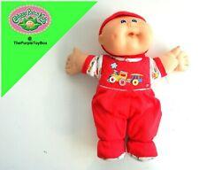 "Vintage 1986 Cabbage Patch Kids ~ NEW BORN BABY BOY ~ 12"" Tall Plush / Beanie"