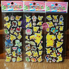 10 sheets Pokemon stickers party favours bag fillers