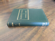 Surveying Charles B Breed 1942 FREE SHIP Flexible Cover