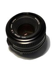 Minolta MD 50mm 1:2 Objektiv #1630982
