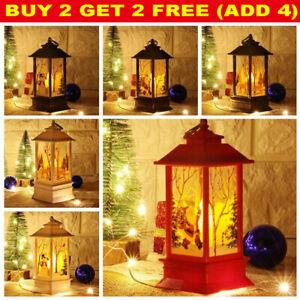 Christmas Acrylic LED Light Up Decoration Festive Indoor Outdoor Figurine Xmas