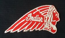 INDIAN VINTAGE AMERICAN MOTORCYCLE BIKE BIKER  BADGE IRON SEW ON PATCH