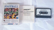 CASSETTE GLF CHAMPIONSHIP FOOTBALL COMMODORE 64 128 CMB 64 C64 PAL ENGLISH