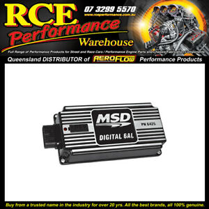 MSD Digital 6al Ignition Control w/soft Touch Rev Control - MSD64253 Black Only