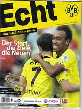 Programm Stadionheft 13/14 Borussia Dortmund Eintracht Braunschweig Echt PRG