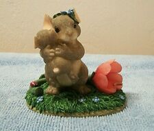 "Charming Tails ""Moms Give the Best Hugs"" Fitz & Floyd Figurine Original Box"