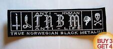 TAAKE TNBM BACK PATCH,BUY3GET4,ULVER,MAYHEM,GORGOROTH,IMMORTAL,BLACK METAL,1349
