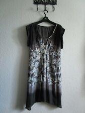 MINT VELVET summer  grey ombre silk dress, 12 BNWOT